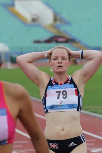 "Scottish athletes like Lauren Peffers have a choice - will it be ""Yes"" or ""No"" ?"